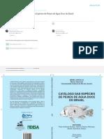 Buckup Et Al. 2007 - Catálogo Peixes de Água Doce - Brasil