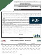 IBFC 03 Analista de Sistemas