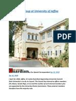 Sri Lanka  A Coup at University of Jaffna Council.docx