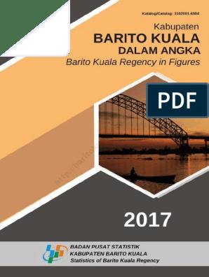 Kabupaten Barito Kuala Dalam Angka 2017