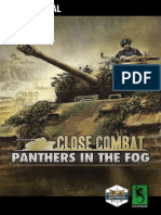 Close Combat Panthers in the Fog Manual