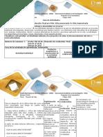 Guía de Actividades y Rúbrica de Evaluación - Fase 4 - Evaluación Final Por POA Vida Proyectada vs Vida Improvisada