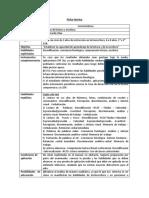 Ficha Tecnica  prueba de lectoescritura DR. OLEA
