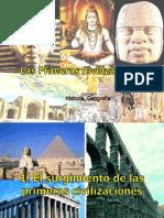 Unidad 3 Las Primeras Civilizaciones