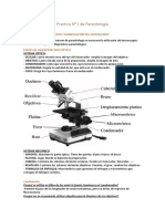 Practica N0 1 de Parasitología