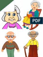abuelos animados .