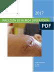 Infección de Herida Operatoria