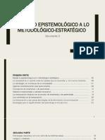 Doc 3 -De Lo Epistemológico a Lo Metodológico- Estratégico