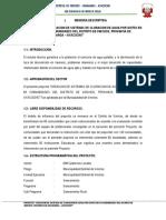 proyecto de implementacion de sistemas de cloracion