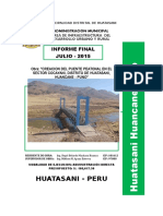 Infor Mensual Julio 2015 Huatasani
