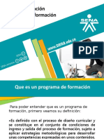 Contextualizacion Programa de Formacion
