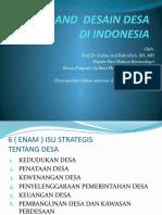 Grand Desain Desa Di Indonesia