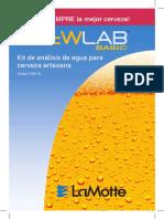 Calidad de agua para cerveza artesanal
