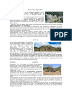 Sitios Arqueologicos de Centro America