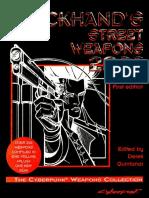 Cyberpunk 2020 - CP3461 Blackhand's Street Weapons