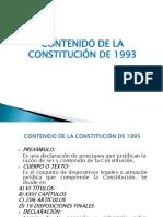 Contenido de La Constitucion de 1993 Juan Caparachin