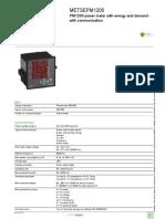 EasyLogic PM1000 Series_METSEPM1200