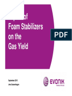 04 Impact of Stabilisers on Gas Yield