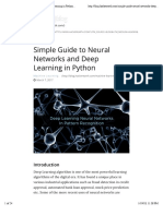 Simple Guide to Neural Networks and Deep Learning in Python | HackerEarth Blog