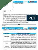Programación Anual de Comunicación Con Las Rutas de Aprendizaje_Primero