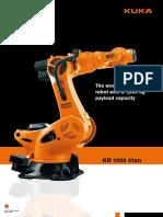 836 Kuka Kr 1000 l750 Titan f Robot Adatlap
