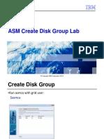 Unit 7 ASM Create Disk Group