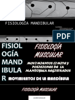 Fisiología Mandibular