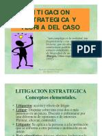 4318 1 Litigacion Estrategica y t Del Caso