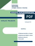 Katalog proritetnih energetskih prjekata EP BiH i HB - FMERI FBiH
