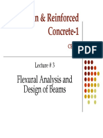 Prof. Zahid Ahmad Siddiqi Lec-3-Flexural Analysis and Design of Beamns