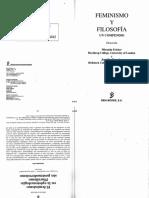 02058020 Fricker - Feminismo y Filosofía - (El Feminismo en La Epistemología ...)