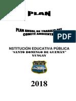 PLAN ANUAL DE  TRABAJO DEL COMITE DE RIESGOS.docx