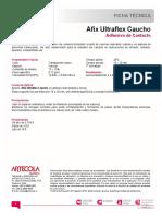 TDS Afix Ultraflex Caucho