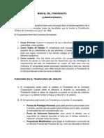 Manual Del Congresista