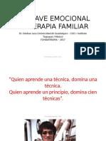 (Trabajo) La Clave Emocional en Terapia Familiar. 2017 - Esteban Laso