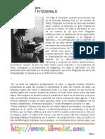 Un Viaje Al Extranjero - Fitzgerald, F. Scott