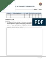 Tema 1 - Ley de Coulomb y Campo Eléctrico