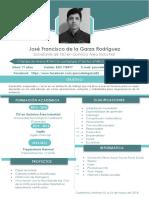 Cv José Francisco de La Garza Rodríguez