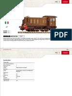 MEM Productinfo Fleischmann DiesellocomotiveD236,FS