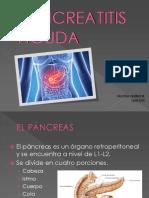 Pancreatitis._ Valeria Quinche