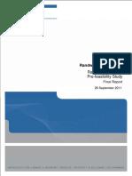 Part a - Light Rail Pre-Feasibility Study 2011