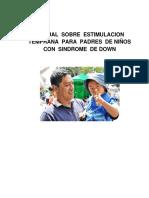 06 ENF 522 MANUAL SOBRE  ESTIMULACION  TEMPRANA  PARA  PADRES  DE NIÑOS  CON  SINDROME  DE DOWN.pdf