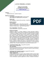 CV Claudio Pereira Gomes Vs1