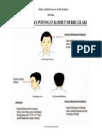 Garis Panduan Potongan Rambut Murid Lelaki