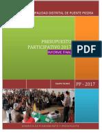 Informe Pp 2017 Mdpp