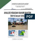 Banjir Banten 08-10 Januari 2013