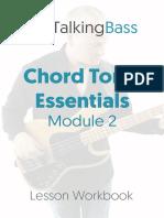 Chord Tone Essentials Module 2 Workbook