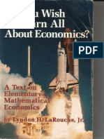 LaRouche So You Wish to Learn All About Economics