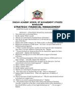 Strategic Financial Management 2