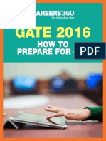 GATE 2016 - How to Prepare for Computer Science Engineering (CSE)